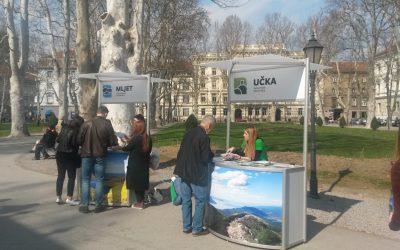 Promocija web portala Parkovi Hrvatske – Zrinjevac, Zagreb