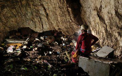 Održana volonterska akcija čišćenja jame kod Male Učke