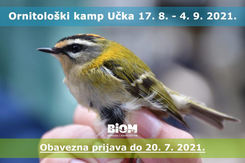 Ornitoloski kamp BIOM Ucka 2021