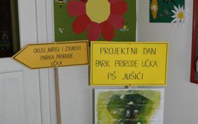 """Prezentacija školskog projekta """"Učka"""" u područnoj školi Jušići"""