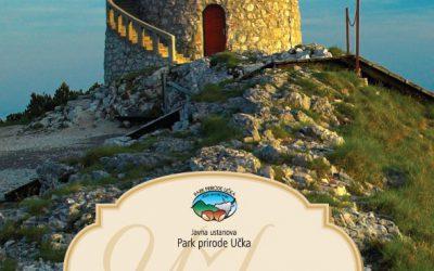 Novi dvojezični Vodič Parka prirode Učka